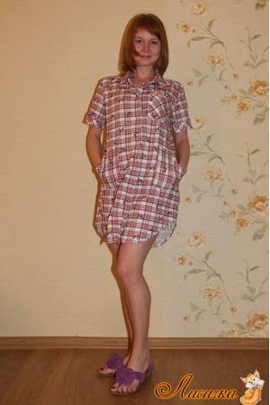 Блуза-рубашка модель 3