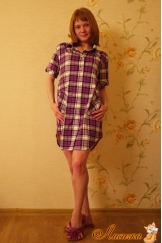 Блуза-рубашка модель 1